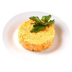 Салат из моркови с сыром* 100 г. - фото 7043