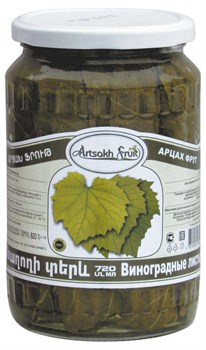 Листья виноградные Арцах Фрут 720г ст/б - фото 7066