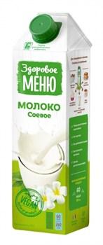 Напиток Здоровое меню Молоко соевое 1% 1л - фото 7593