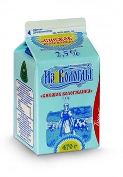 Продукт кисломолочный Вологжанка снежок сладкий 2,5% 470г - фото 7618