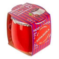 Десерт Панна Котта из сливок сливки-вишня 9% 140г - фото 7632