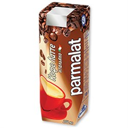 Коктейль Пармалат молочный Кофе латте итальянский 2,3% 0,25л - фото 7651