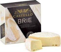 Сыр Кастелло Бри с белой плесенью 50% 125г - фото 7681