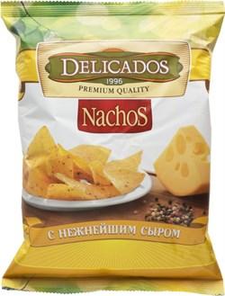 Чипсы Деликадос кукурузные с сыром 150г - фото 7701