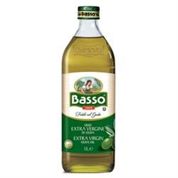 Масло Бассо оливковое 1л ст/б - фото 7725