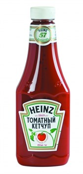 Кетчуп Хайнц томатный 1кг пл/б - фото 7739