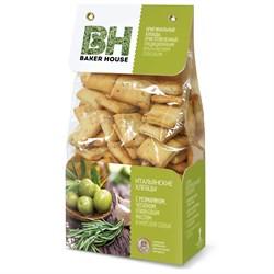 Хлебцы Бейкер Хаус розмарин/чеснок/оливковое масло 250г - фото 7783