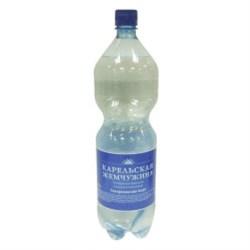 Вода Карельская жемчужина столовая газ 1,5л - фото 8117