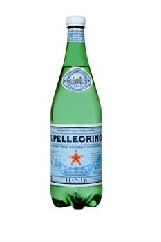 Вода Сан Пеллегрино минеральная газ 1л пэт - фото 8119