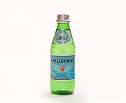Вода Сан Пеллегрино минеральная газированная 0,25л ст/б - фото 8120