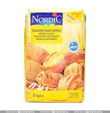 Мука Нордик пшеничная 2кг - фото 8291