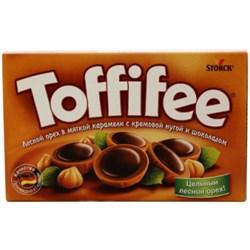 Конфеты Тоффифи лесной орех в карамели 125г - фото 8341