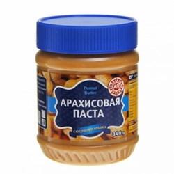 Паста АП арахисовая с кусочками арахиса 340г - фото 8479
