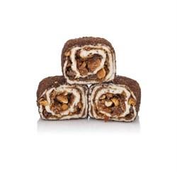 Лукум Султан с прослойкой шоколада с миндалем 100 г. - фото 8490
