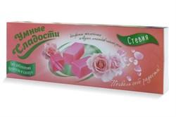 Конфеты Умные сладости желейные со вкусом лепестков чайной розы 90г - фото 8607