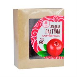 Пастила Сибирский кедр ягодная клюквенная 100г - фото 8619