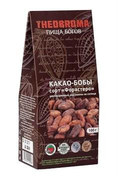 Какао-бобы Форастеро необжаренные 100г - фото 8635