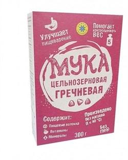 Мука Компас здоровья гречневая цельнозерновая 300г - фото 8639