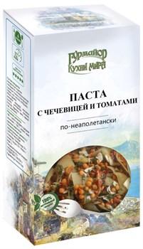 Паста Гурмайор Кухни мира с чечевицей и томатами по-кеаполитански 220г - фото 8671