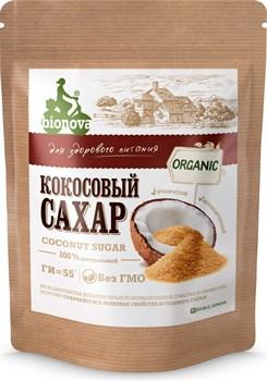 Сахар Бионова органический кокосовый 200г - фото 8672