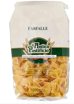 Макароны Антико Пастифичио Фарфалле 500г - фото 8909