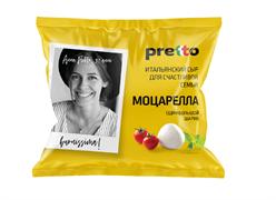 Сыр Претто Моцарелла фиор ди латте в воде 50% 100г