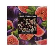 Шоколад Фруктовая коллекция темный с натуральным инжиром 80г