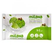 Салфетки влажные Милана фисташковое мороженое 72шт