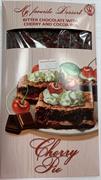 Шоколад Ворлд &Тайм горький Вишневый пирог ручной работы 80г