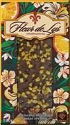 Шоколад Либертад горький с апельсином и какао 80г