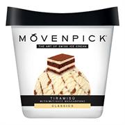 Мороженое Мовенпик тирамису с сыром маскарпоне пломбир 450мл