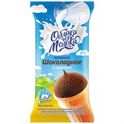 Мороженое Облака из молока сливочное шоколадное 80г ваф/ст