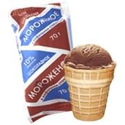 Мороженое Карелии пломбир шоколадный 70г стаканчик