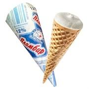 Мороженое Карельский стандарт пломбир по Госту ваф. рожок 100г
