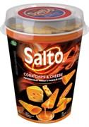 Чипсы Сальто кукурузные со вкусом сыра начо 75гр