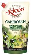 Майонез Мистер Рикко оливковый экстра верджин органик 67% 400мл