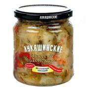 Закуска Лукашинские донская из соленых овощей 420г