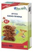 Какао-печенье Флер Альпин детское 150г