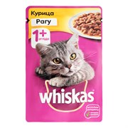 Корм для кошек Вискас рагу курица от 1 года 75г