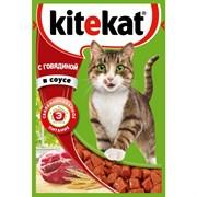 Корм для кошек Китекят с кроликом в соусе 85г