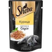 Корм для кошек Шеба курица в соусе 85г