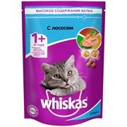 Корм для кошек Вискас подушечки с паштетом лосось 350г