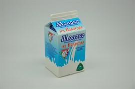 Молоко Из Вологды Российское пастеризованное жир.2,5% 0,47л