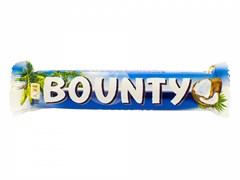 Баунти с мякотью кокоса в молочном шоколаде 55г