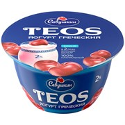 Йогурт Савушкин Греческий Теос вишня 2,0% 140г