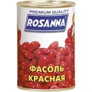 Фасоль Росанна красная ж/бн 400г