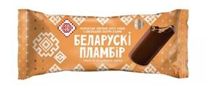 Мороженое Белорусский пломбир эскимо крем-брюле в живой глазури 80г