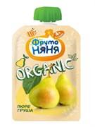 Пюре Фруто-няня Органик груша 90г