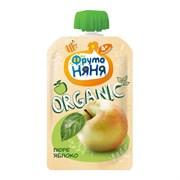 Пюре Фруто-няня Органик яблоко 90г