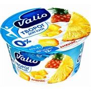 Творог Валио с ананасом 0.1% 140г